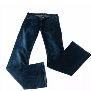 7 for all mankind women's jeans boot cut size 26